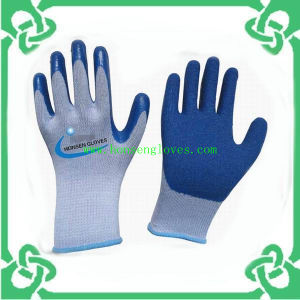 Rubber Coated Gloves of Work Glove