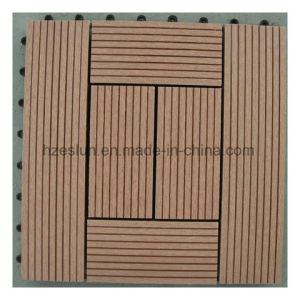 Outdoor Easy Installation DIY WPC Tile, WPC DIY Decking pictures & photos