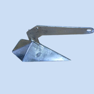 Plow Anchor with Galvanized Finish