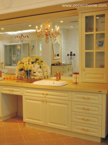 SGS Approved Bathroom Cabinet / Lacquer Bathroom Cabinet (OP-W1170-340)