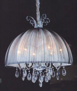 Fabric Unique Crystal Pendant Lamp for Restaurant pictures & photos