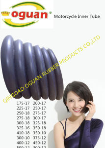 High Air Tightness of Motorcycle Butyl Rubber Inner Tube pictures & photos
