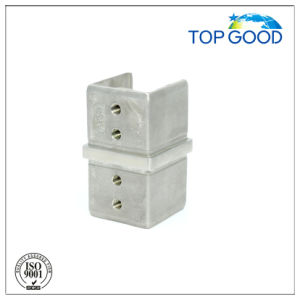 Stainless Steel Square Corner Horizontal Slot Tube Connector (53150) pictures & photos