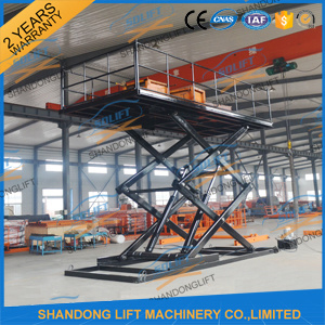 Automated Scissor Hydraulic Car Lifter Parking Lift pictures & photos