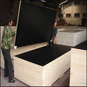 18mm Black Film Faced Finger-Joint Plywood for Construction pictures & photos