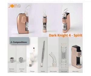 2016 Electronic Cigarette Wholesale Ceramic Heating Vaporizer E Cig Jomo Wax Vaporizer Dark Knight Spirit pictures & photos