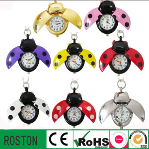 Water Resistant Quartz Movement Keychain Kids Watch pictures & photos