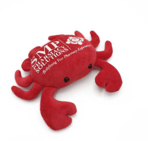 Super Soft and Plush Stuffed Animal Crab pictures & photos