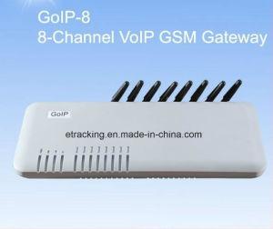 VoIP GSM Gateway/ Gateway GSM-VoIP / IP GSM Gateway 8sims GoIP8 8 Port GoIP Gateway pictures & photos