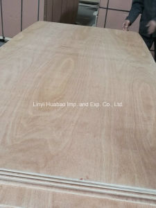 Meranti Face/Back Plywood Poplar Core BB/CC Grade pictures & photos