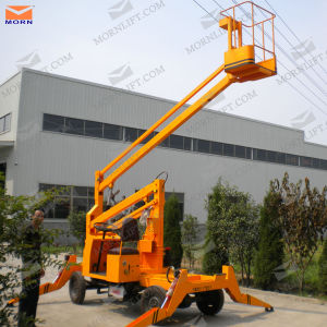Self-Propelled Articulated Aerial Work Platform pictures & photos