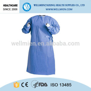Nonwoven Medical Supplies Disposable Sterile Surgical Gown pictures & photos