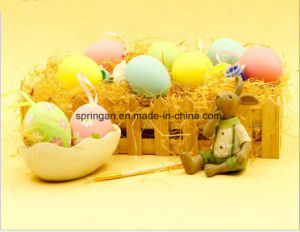 6cm Children Hand-Painted DIY Egg Decoration for Easter pictures & photos