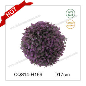 7′′ Christmas Factory Sale Plastic Christmas Ball Grass Craft pictures & photos