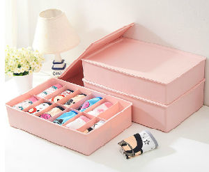 Clear Underwear Plastic Storage Box pictures & photos