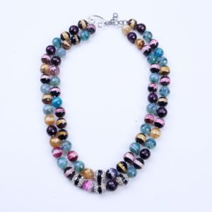 Colorful Stone Summer Necklace pictures & photos