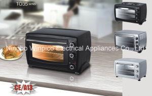 CE A13 Toaster Oven, 35L Countertop Convection Toaster Oven Rotisserie W/Racks pictures & photos