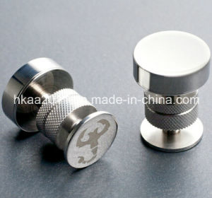 CNC Turning Parts, OEM Custom Double Agent Magnetic Cufflink Parts pictures & photos