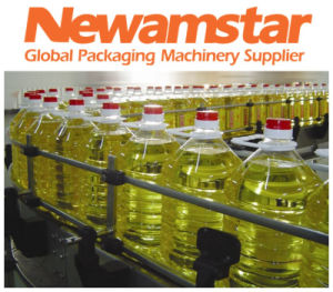 Bottled Edible Oil Filling Sealing Packing Machine pictures & photos