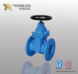 Rubber Seat Resilient Sluice Gate Valve (Z45X-10/16) pictures & photos