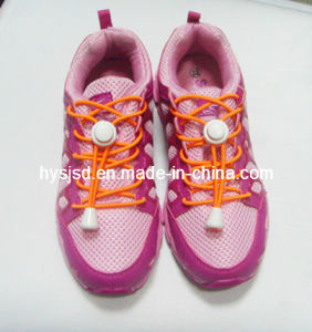High Quality Elastic Shoelace with Locking Elastic Shoelace pictures & photos