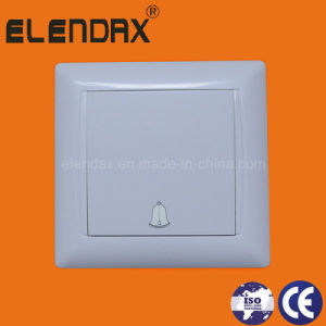 EU Style Flush Mounting Doorbell Wall Light Switch (F6006) pictures & photos