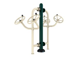 Outdoor Fitness Equipment Double Pull up Rack for Body-Building Equipment pictures & photos