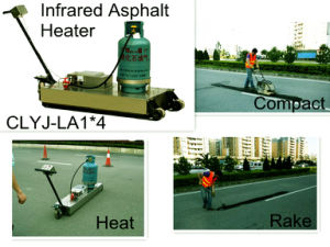 Portable Infrared Asphalt Heater CLYJ-LB1*4