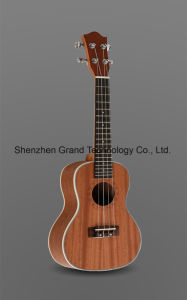 "23"" Sapele Plywood Mahogany Neck Concert Ukulele (UK-231) pictures & photos"