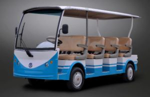 Dongfeng 11 Seater Electric Sightseeing Car for Sale pictures & photos
