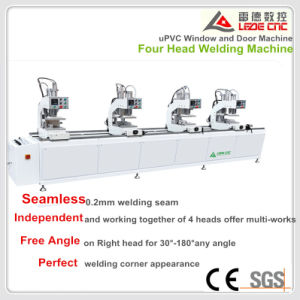 Windows Processing Machine PVC Window Four Head Seamless Welding Machine pictures & photos