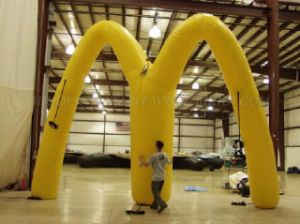 Custom Advertising Inflatable Arch for Sale (K4009) pictures & photos