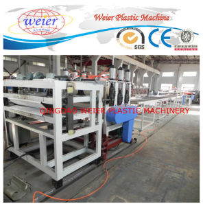 Plastic XPS Foamed Board Making Machine (XPS135/150) Single Screw Double Stage pictures & photos
