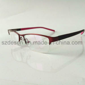 Promotional High Quality Fashion Half Rim Tr90 Optical Frame pictures & photos