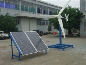 Wind Solar Power Hybrid System 1kw/2kw/3kw pictures & photos