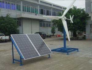 Sistema híbrido de poder solar do vento