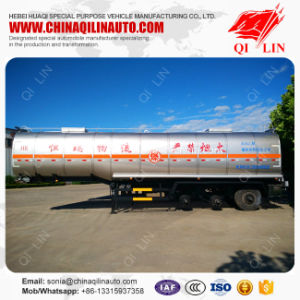 Flammable Liquids Tank Semi Trailer with 100mm Insulating Layer pictures & photos