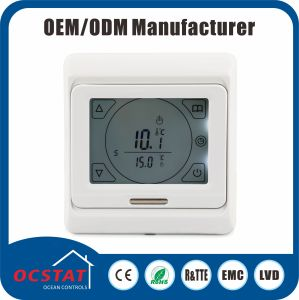 Touch Screen Electronic Thermostat 7 Day Programmable 230V AC Thermostat pictures & photos