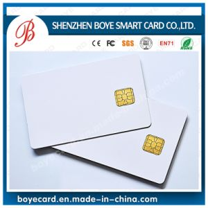Smart Plastic PVC Contact IC Card (BY-S8) pictures & photos