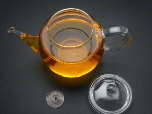 Heat Resistant Clear Glass Teapot Tea Pot with Filter/Infuser900ml for Coffee & Tea pictures & photos