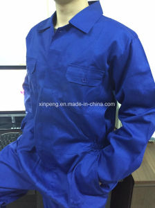 Blue Coverall One PC Work Uniform pictures & photos
