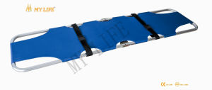 Aluminum Alloy Folding Stretcher Emergency Folding Pole Stretcher (TD01011)