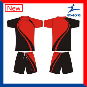 Healong Customized Breathable Sublimation Printing Soccer Jersey pictures & photos