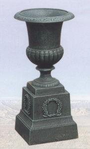 Cast Iron Vase on Pedestal pictures & photos
