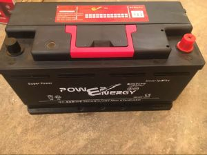 DIN90mf 12V90ah Maintenance Free Lead Acid Car Storage Battery pictures & photos