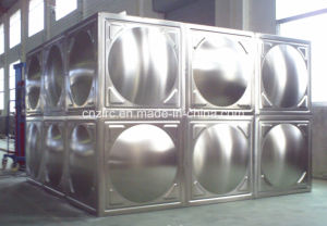 Factory Outside Stainless Steel Cool Water Tank pictures & photos