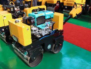 800kg Double Drum Roller Vibratory Compactor pictures & photos