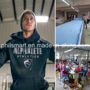 Custom Body Building Men′s Gym Hoodies pictures & photos