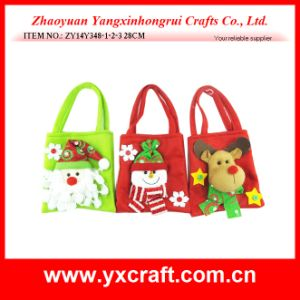 Christmas Decoration (ZY14Y348-1-2-3) Christmas Promotion Bag Crochet Bag pictures & photos