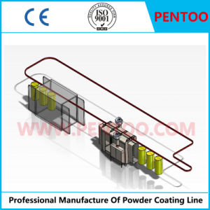 High Temperature Resistant Powder Coating Line with Good Quality pictures & photos